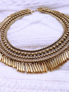 Gold and elegant | Stella & Dot  Tansy Fring www.stelladot.com/sjgrubar