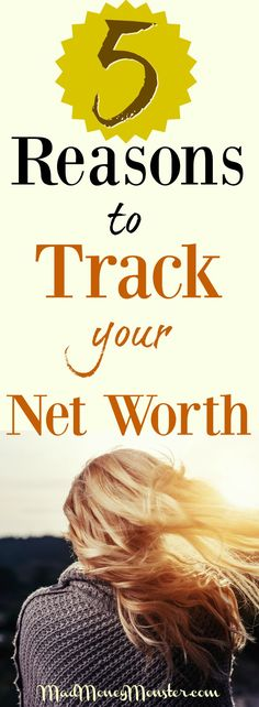5 Reasons You Need To Track Your Net Worth To Build Wealth - Mad Money Monster Ways To Save Money, How To Make Money, Money Tips, Mad Money, Managing Your Money, Debt Payoff, Investing Money, Budgeting Tips, Money Matters