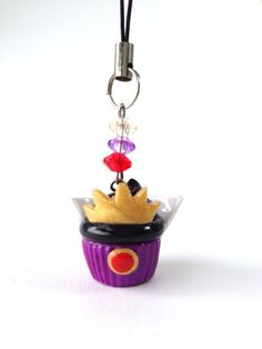 Evil Queen Disney Inspired Cupcake Polymer Clay Charm
