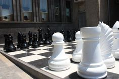 The big chess on Chales Aznavour Square - see more interesting places in Yerevan in Yerevan city tours organized by www.VisitArm.com