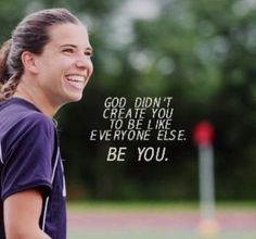 Tobin Heath, my role model.