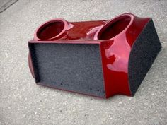 How to Build a Fiberglass Sub Box: In this Instructable i will show you how to build your very own custom subwoofer box! Custom Subwoofer Box, Subwoofer Box Design, Diy Subwoofer, Custom Car Audio, Custom Cars, Car Speaker Box, Car Audio Shops, Car Audio Installation, Vw Lt