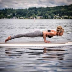 #Repost @robinmartinyoga  Grey leggings to match grey skies in Seattle! Chaturanga paddleboard style for day one (tomorrow) of #UseYourCoreandMore  Chaturanga is a foundational pose in vinyasa yoga and is one tough core burner among other things! The key to alignment in this pose is to shift forward to the tips of the toes so elbows align above the wrists when lowering down. The core and legs are fully engaged shoulders in line with elbows or maybe slightly above just not dipping below. Arms…