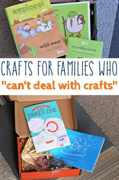 These craft subscription boxes are awesome. Everything is included. Love this for a gift idea!