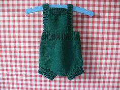 The simple pleasures of a baby's summer are evoked in the retro Simple sunsuit.