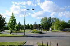Entrada norte Campus Talca.