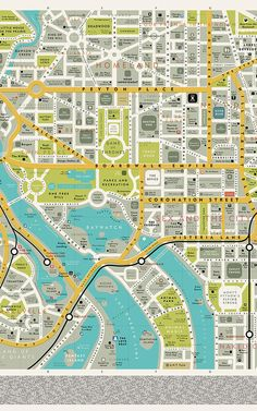 A Map Of Famous Places From Your Favorite TV Shows