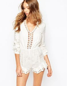 The+Jetset+Diaries+Sundown+Romper+with+Cut+Out+Detail