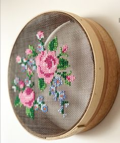 Cross stitch!! Screen