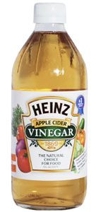 Interesting.....Try adding a teaspoon of apple cider vinegar to every 8 oz. glass of water you drink throughout the day. If you maintain the daily intake of 64oz. of water, you will start to see the pounds shed fast!  Detoxification: If you are looking for a healthy detox, look no further than apple cider vinegar. Combine 1 ½ cups apple cider vinegar with one gallon of water and drink throughout the course of a day for an overall body and kidney...hmmmm