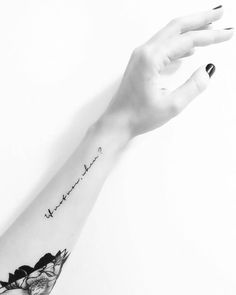 """Quote from """"For me this is heaven"""" by Jimmy Eat... - Little Tattoos for Men and Women"""