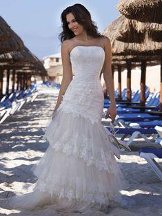 beach wedding dresses | ... com: Simple Love To You - Beach Wedding Dresses For Your Beach Wedding