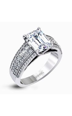 #Simon_G_Simon Set. Buy the ring of her dreams from Scott Kay. We have a great selection of engagement rings in  the Indianapolis area.