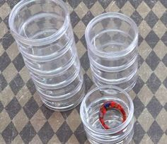 Various Small Clear Storage Containers, from R22-66/pack | Paradise Creative Crafts - Online shop