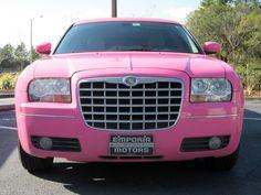 PINK chrysler 300?! DREAM CAR <3