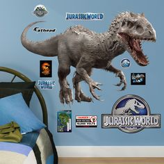 NBC Universal Indominus Rex - Jurassic World Junior Peel and Stick Wall Decal