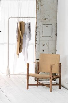 """Stylish and Simple Summer by """"French Connection"""" // safari chair - will love few of this in white"""