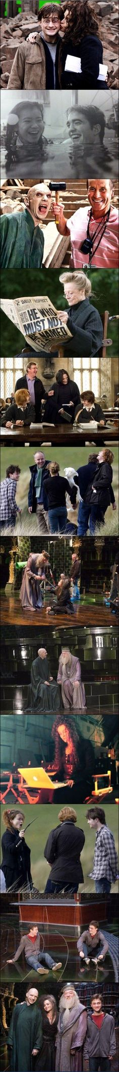 Harry Potter behind the scenes