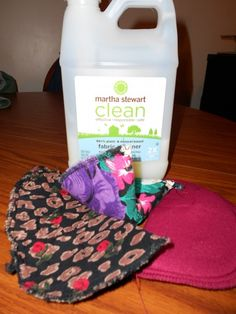 Make your own reusable dryer sheets from old shoulder pads and liquid fabric softener