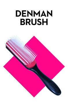 Denman brushes are great for short hair!
