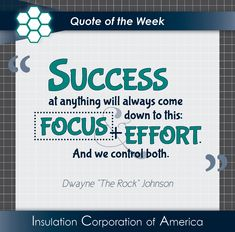 "of the Week ~ Dwayne ""The Rock"" Johnson ~ "" at anything will always come down to this: and And we control both. Dwayne Johnson Quotes, The Rock Dwayne Johnson, Rock Johnson, Dwayne The Rock, New Quotes, Quotes To Live By, Life Quotes, Inspirational Quotes, Quote Of The Week"