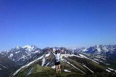 Ridge Running until Midnight on Summer Solstice. Chugach State Park, AK.