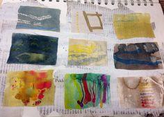 Unit 2 view finder drawings Textiles Dysperse dye CNC College preston Sketchbook Inspiration, Design, Inspiration, Illustration, Drawings, Fashion Illustration, Painting, Textile Design, Art