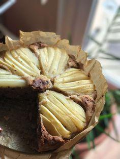 Szybkie ciasto gruszkowo-czekoladowe bez cukru. Bezglutenowe o niskim indeksie glikemicznym. Sztos przepisz. Wypróbuj już dzisiaj!