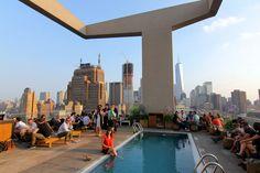 Jimmy (rooftop), New York. Photo : Les Jolis Mondes