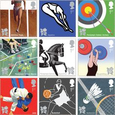 London 2012 Olympic Stamps by Royal Mail
