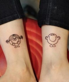 Cute Matching Tattoos - 70  Lovely Matching Tattoos | Art and Design