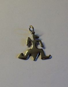 Sterling Silver Vintage Native American Lizard Pendant by onetime, $6.25
