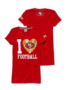 16d1295ed I Football Red and Gold Represent your favorite team in VS sportswear.
