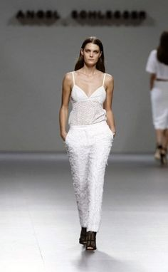 Angel Schlesser MB Fashion Week Madrid Primavera Verano 2014