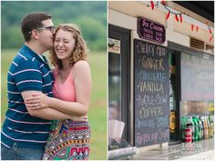 Jess and Corey's Engagement Session at the Bistro Box - Tricia McCormack Photography