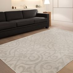 Area rug for the dining room - for under espresso counter height dining set
