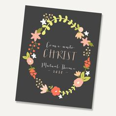 LDS Young Women 2014 Theme Come Unto Christ by alexazdesign Lds Young Women Handouts, Holiday Gift Guide, Holiday Gifts, Summer Camps For Teens, Yw In Excellence, Lds Blogs, Personal Progress, Printable Pictures, Visiting Teaching