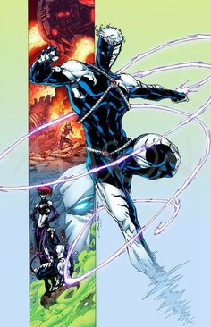 Art and Ink by Brett Booth Colours by Thomas Mason WildStorm Backlash and Taboo Comic Book Artists, Comic Book Characters, Comic Book Heroes, Comic Character, Comic Books Art, Comic Art, Dc Heroes, Marvel Vs, Marvel Dc Comics