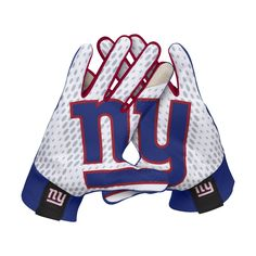 Nike Stadium (NFL Giants) Men's Gloves Size XL (Blue) - Clearance Sale