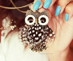 Cute Lil owl necklace