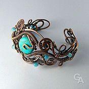 "Handmade Jewelry. Fair Masters - handmade bracelet with turquoise ""Vintage"". Handmade."