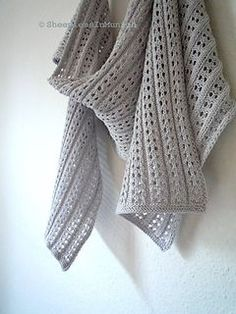 Java Summer Scarf by Johanna ShiM on Ravelry