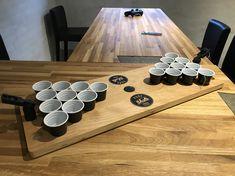 Booze pong...