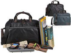 Bugatti MOTO D - RV-Businesstasche Aktentasche Kennedytasche Notebooktasche - schwarz oder blau 498257