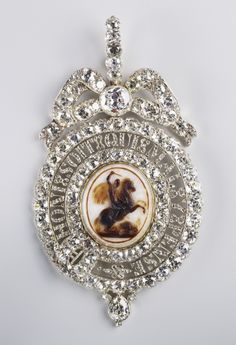 Lesser George, Nathaniel Marchant, early 19th century, probably made for George IV; first recorded in the Royal Collection in 1837.