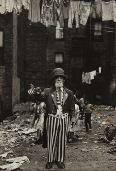 Diane Arbus, Max Maxwell Landar, Uncle Sam, N.Y.C., 1961, Phillips: Photographs Day Sale