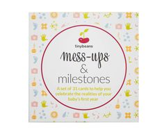 Tinybeans Mess-Ups & Milestones Card Set 1