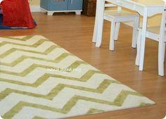 Make my own chevron rug