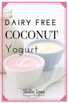 You will not miss dairy yogurt with this raw coconut yogurt recipe. It is easy to prepare, delicious and full of superfoods. Coconut Yogurt Recipe, Raw Coconut, Yogurt Recipes, Vegan Yogurt, Keto Diet Drinks, Vegan Keto Diet, Keto Cocktails, Keto Meal, Dukan Diet