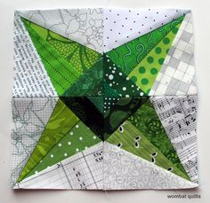 Welcome to another riveting edition of Paper piecing Monday... okay there was a little bit of hyperbole in that statement, but I am really enjoying making these stars, and today's pattern is no exc...